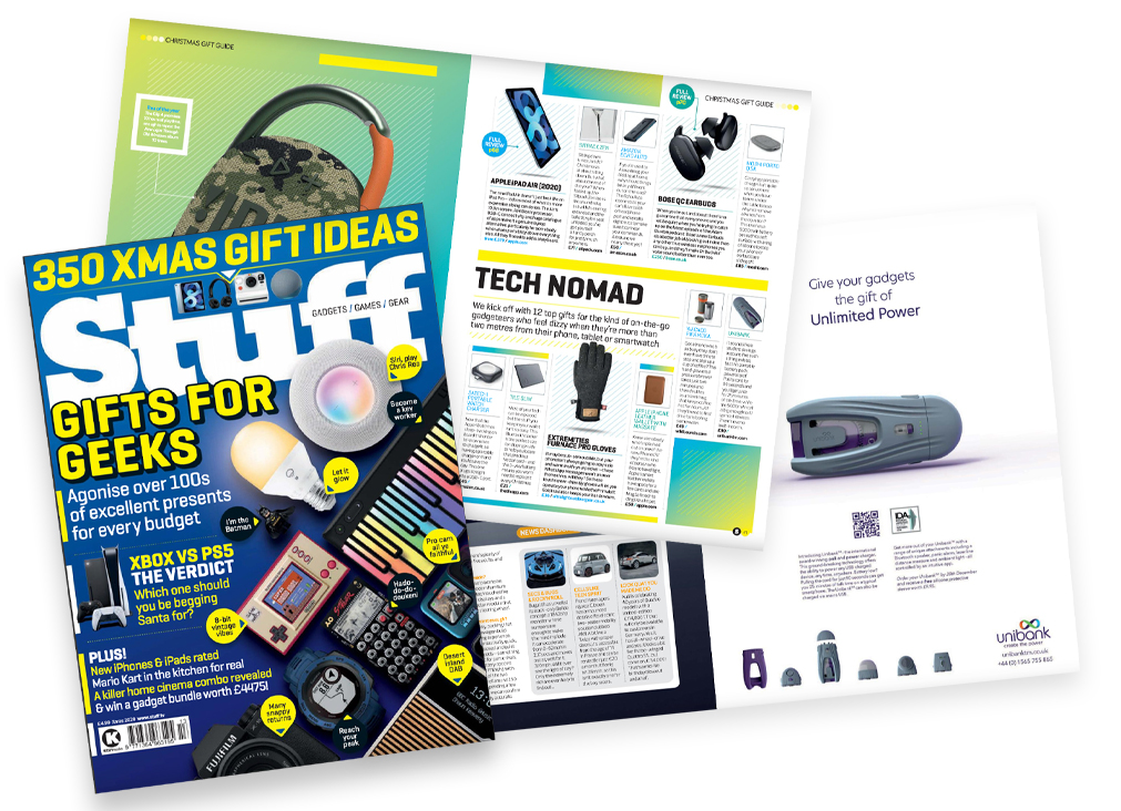 Stuff Magazine Clippings from Unibank Advertisement